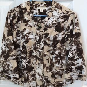 Coldwater Creek jacket 10P